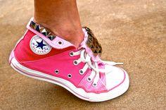 Studded Pink Converse