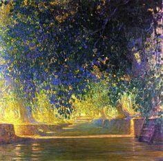 Galileo Chini - Canale a Bangkok, 1912-1913