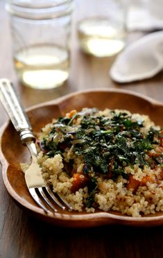 www.climbinggriermountain.com 2014 01 winter-squash-salad-with-quinoa-dandelion-greens-whole-grain-mustard-vinaigrette.html