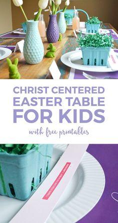 Christ Centered Easter For Kids | religious easter printables