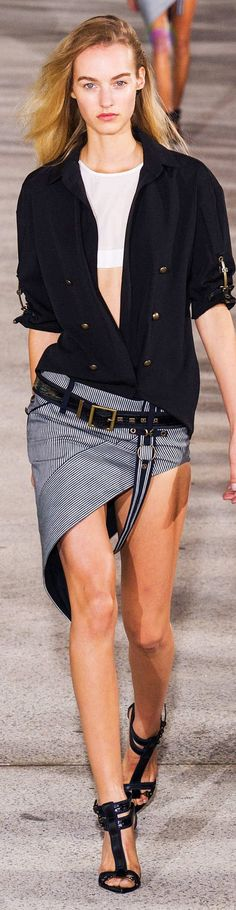 Anthony Vaccarello Collection Spring 2015 | The House of Beccaria~