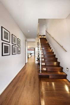 Clarendon Homes. Armadale Beautiful timber cantilevered staircase which maximizes your floor space. Timber Staircase, Grand Staircase, Stair Railing, Clarendon Homes, Display Homes, Reno, Floor Space, Stairways, Master Suite