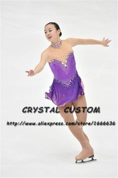 >> Click to Buy << Custom Made to Fit Ice Skating Dresses Graceful New Brand Figure Skating Dresses For Competition DR4269 #Affiliate