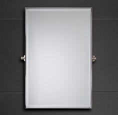 Bistro Rectangular Pivot Mirror Mirrors Restoration Hardware Bathroom Option