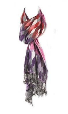 Tolani Honeycomb Scarf available