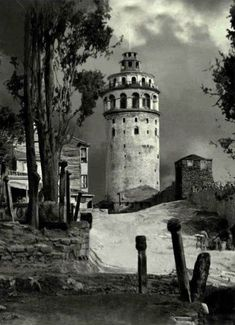 Galata Tower, 1862