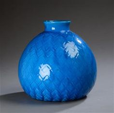 Vare: 4328674Kähler. Stor vase af lertøj