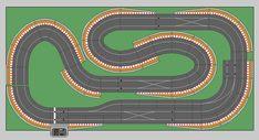 New Digital Track Designs - Page 8 - Tracks & Scenery - SlotForum - Page 8 Slot Car Racing, Slot Car Tracks, Slot Cars, Race Cars, Scalextric Track, Bridge Structure, Rc Trucks, Current Location, Site Design