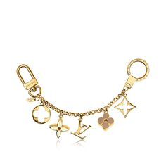 Discover Louis Vuitton Fleur de Monogram Bag Charm Chain via Louis Vuitton=$530