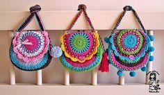 crochelinhasagulhas: Bolsa de crochê I