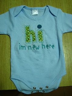 perfect for a newborns first outfit