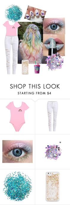 """""""Unicorn frap"""" by emma-rose-tokach ❤ liked on Polyvore featuring beauty, The Gypsy Shrine and ban.do"""