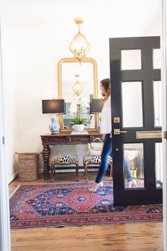 Your entry is the first chance you get to make an impression and to set the overall feel of your home.  Classic entryway by House of Harper.