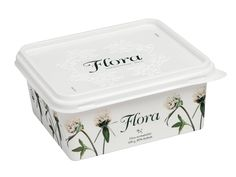 Flora Margarine by Moses Voigt, via Behance
