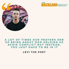 #podcast #podcasting #quotes #levithepoet #prayer #conflict #newepisode #musician #artist #poetry
