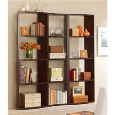open bookshelf with decor - Yahoo Image Search Results