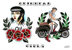 Skinhead girls - 11/2016