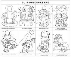 Dibujos para catequesis: EL PADRE NUESTRO