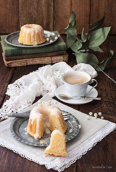 La cocina de Tesa: Minis Bundt cakes de limón con glaseado de limón