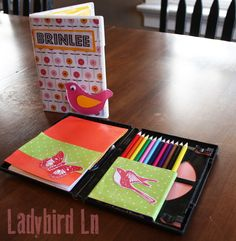 Great handmade Christmas gift for kids using Mod Podge and upcycling an old DVD case!