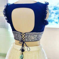 Saree Jacket Designs, New Saree Blouse Designs, Netted Blouse Designs, Blouse Designs Catalogue, Simple Blouse Designs, Choli Designs, Stylish Blouse Design, Bridal Blouse Designs, Stylish Dress Designs