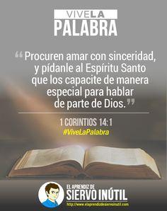 #ViveLaPalabra - 1 Corintios 14:1