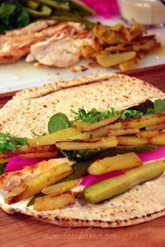 Shawarma - Chicken Pita Sandwich