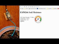 ESP8266 Soil Moisture Sensor With Arduino IDE: 4 Steps (with Pictures)