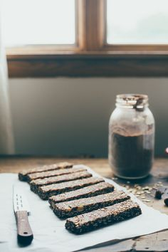 hazelnut cocoa granola bars | my name is yeh
