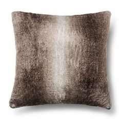 Faux Fur Euro Pillow - Brown - Fieldcrest™ already viewed Fur Pillow, Fur Throw Pillows, Faux Fur Throw, Cozy Blankets, Bolster Pillow, Sofa Couch, Couch Set, Couch Pillows, Gold Pillows