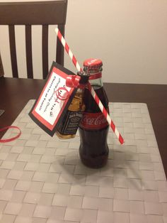 40th birthday favors, Jack and Coke... Cheers to 40 years!