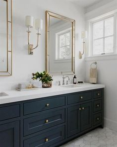double sink bathroom vanity for your informations. Bathroom Design Layout, Bathroom Interior Design, Bathroom Designs, Tile Design, Tile Layout, Kitchen Design, Bathroom Remodel Cost, Bathroom Renovations, Bathroom Makeovers
