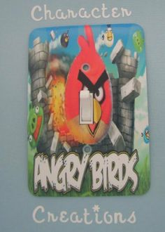 Angry Birds Standard Light switch Cover (Switch plate Switchplate) by Character Creations, http://www.amazon.com/dp/B008IVUPQM/ref=cm_sw_r_pi_dp_tEACqb10BBMQP