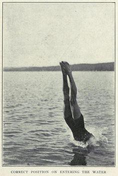 Correct diving, via Flickr.