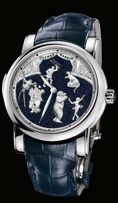 Ulysse Nardin Complications Circus Minute Repeater 740-88 - Click Image to Close