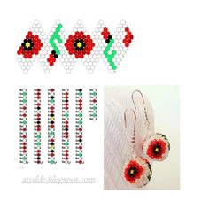 Bead Crochet Patterns, Beaded Jewelry Patterns, Beading Patterns, Flower Patterns, Seed Bead Jewelry, Jewelry Making Beads, Art Perle, Crochet Ball, Beaded Boxes