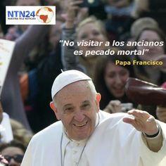 Este es un mensaje de El Papa. March 04, 2015.