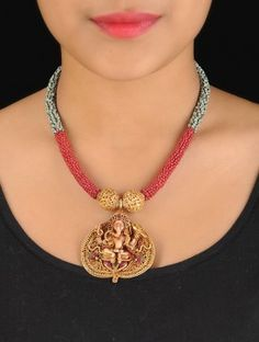 Lord Ganesha Silver Necklace
