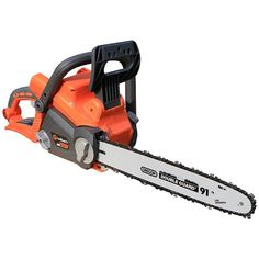 Sweet stihl contra 1106 chainsaw love the red spikes chainsaw put away your gas chain saw and begin to experience the power and fast cutting speed of the redback cordless 12 in chain saw its packed with features greentooth Gallery