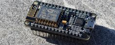 What if I told you a there's an Arduino-compatible dev board with built-in Wi-Fi… Pi Computer, Micro Computer, Computer Technology, Computer Science, Esp8266 Arduino, Esp8266 Projects, Raspberry Pi Projects, 3d Laser, Cool Tech