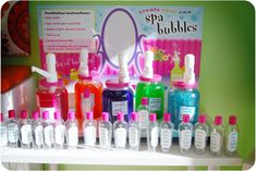 create your own spa bubbles