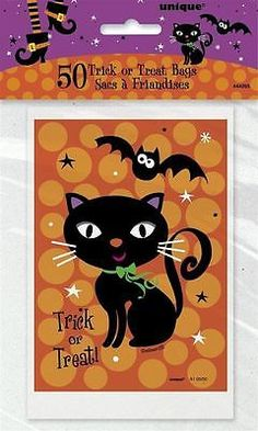 Spooky Boots Treat Bags Cello Halloween Party Loot Sweet Bag Trick Or Treat