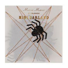EEK!!! Such a fun Mini Spider Garland