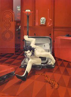 Boxingman in Redroom - Kazuma Kaneko