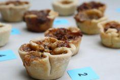 Butter Tart tasting, #buttertarts Butter Tarts, Muffin, Breakfast, Sweet, Food, Morning Coffee, Candy, Essen, Muffins