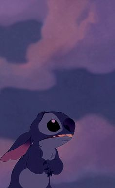 Stitch! He's so cute! I love him with all my heart ❤️❤️❤️