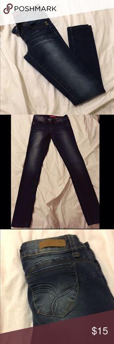 YMI Jeans YMI Wannabettabutt distressed jeans. Size 3 YMI Jeans Skinny