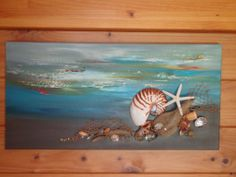 New piece of artwork purchased from Tauranga art shed Summer Catch, Art Shed, Seaside Village, New Zealand, Coast, Waves, Island, Beach, Artwork
