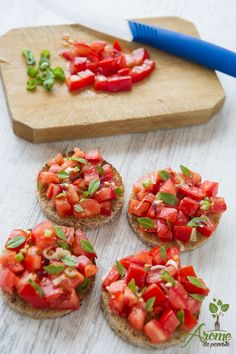 Eat Smart, Bruschetta, Delicious Desserts, Side Dishes, Cooking Recipes, Snacks, Ethnic Recipes, Health, Food