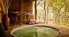 A unique #wellness experience at the Duma Manzi Eco Lodge and Spa, & Wildlife #Retreat in Africa